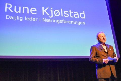 Rune Kjølstad, daglig leder Næringsforeningen i drammensregionen.