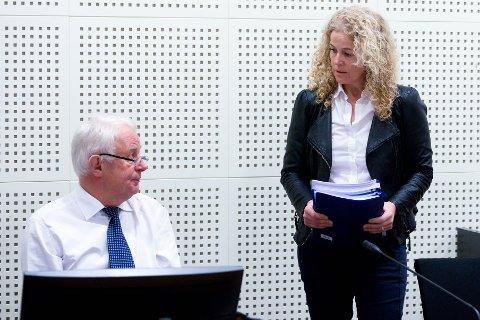 VANT FRAM: Statsadvokat Anne Christine Stoltz Wennersten og politiadvokat Hans Lyder Haare kan konstatere at det ble domfellelse også i lagmannsretten.
