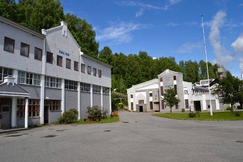 Hellefoss Paper AS i Hokksund.