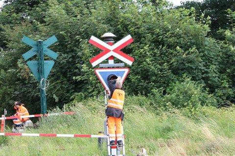 FEILAKTIG INFORMASJON: Borre hevdet i etterkant av ulykken at dersom signalfeil var årsaken til dødsulykken, ville systemet registrere det og automatisk nødbremse toget fra 75 kilometer i timen til 0 på kort tid. Dette viser seg å være feil.