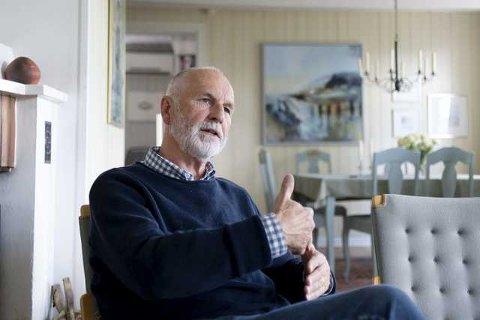 MENINGER: Arne Finn Solli er en aktiv debattanter i Drammens Tidenes spalter. – Å mene noe i avisen er gøy. Jeg får energi av det og håper jeg kan fortsette å være like engasjert i byutviklingen i Drammen fremover, sier han.