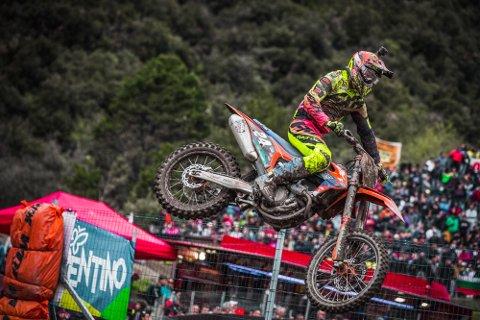 SATSER MOT VM: Kevin Horgmo (18) satser nå for fullt mot VM i motocross.