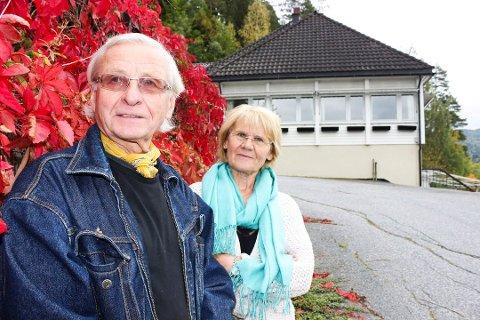 SEKS ÅR: Harald og Unny Aronsen la ut pensjonatet for salg for seks år siden.