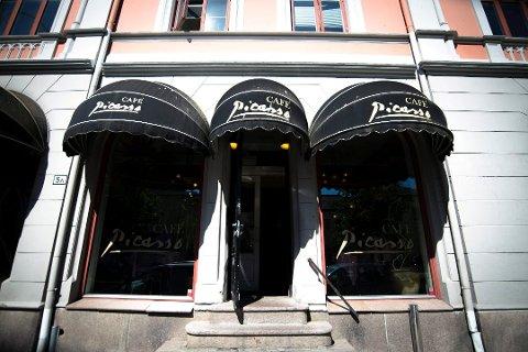 PICASSO: Picasso er en institusjon i Drammen og åpnet dørene i 1986. De nyeste årsregnskapet er imidlertid ikke lystig lesning. Foto: Frederik Ringnes
