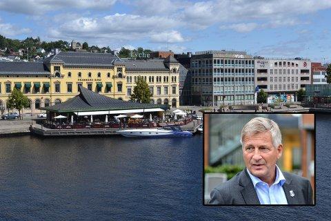 IKKE FIKSET: Selv om Tore Opdal Hansen lovet at permanente strømuttak skulle fikses til årets sesong, er det fortsatt ikke gjort.