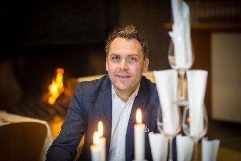 KOKK OG SJEF: Harald Berger er utdannet kokk, og daglig leder i Bølgen og Moi.