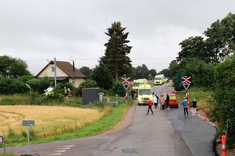 Kim André Nielsen og Benjamin Sørvang Nielsen mistet livet i en tragisk ferietur i Danmark. Mor og datter satt også i ulykkesbilen, men kom fra hendelsen uten alvorlige skader.