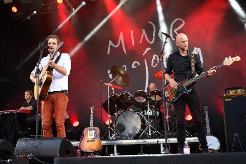 ÅPNET FREDAG: Minor Majority fikk æren av å åpne festivalen, fredag.