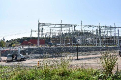 KONTRAKT: Som følge av finansielle problemer mistet Jacobsen Elektro kontrakten med Statnett på Sylling transformatorstasjon.