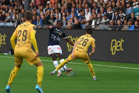 STARTET: Prosper Mendy var en av fem nye som startet mot Bodø/Glimt.