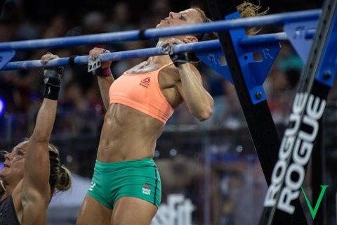 PALLPLASS: Kristin Holte kjempet seg til en andreplass i CrossFit Games, som er det uoffisielle VM i CrossFit.