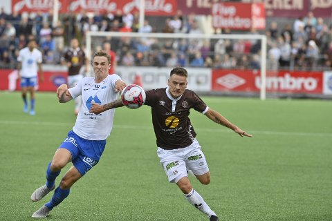 MYE INVOLVERT: Pontus Silfwer var mye involvert de første 25 minuttene mot Molde.
