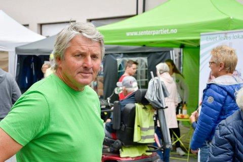Vestfossen marken 2019. Knut Kvale, Øvre Eiker Senterparti.