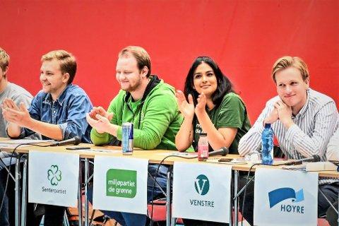 FÅR VIKTIG VERV: Rose Jahanfarah. Her i debatt i forbindelse med høstens skolevalg.