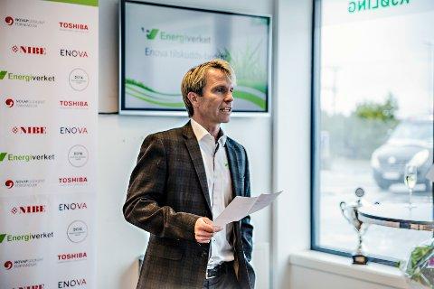 KONKURS: Richart Granskogli, styreleder i EV Drammen AS, forklarer at de begjærte oppbud i selskapet da inntektene stupte som følge av endrede støttesatser fra Enova.