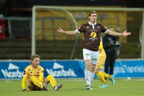 SLUTTER I MIF: Jacob Bergström fikk kun ti kamper i MIF. Her fra eliteseriekampen borte mot Bodø/Glimt i fjor høst.