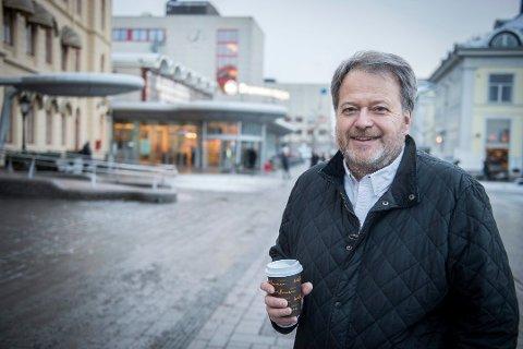SLUTT: Han har vært på Facebook siden våren 2007, men nå er det slutt for Jan M. Moberg.