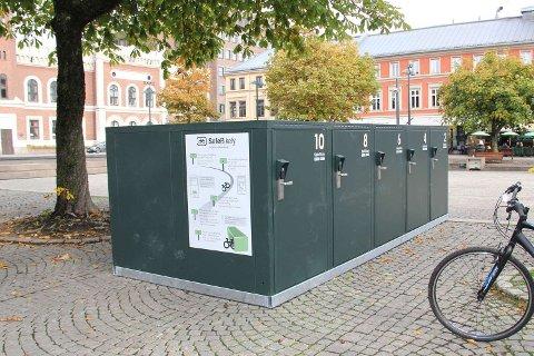 Dette er en av sykkelboksene politikerne vil fjerne.