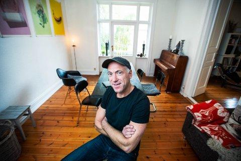 Thomas Horne (47) fra Drammen er aktuell med boken «Den store klimaguiden», hvor han ser nærmere på klimaavtrykket til helt vanlige mennesker.