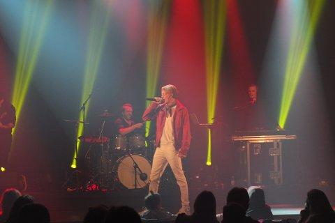 FØRSTE KONSERT: Under festivalen Working Class Hero holdt Bølgen sin første konsert i Drammen.