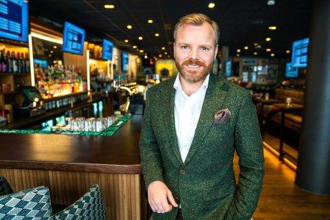 BLIR I BYEN: Global konsernsjef Kenneth Lorentzen bekrefter at O'Learys takker for seg i lokalene på Bragernes. Men i Drammen skal kjeden likevel være. Hvor er enda ikke brakt på det rene.