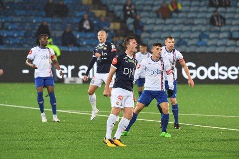 TAP: Strømsgodset møtte Vålerenga i 23.runde søndag kveld. Det oppgjøret endte med seier til gjestene fra Oslo.