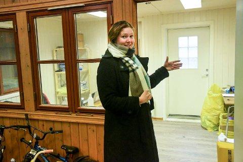 BEKLAGELIG: Kommuneoverlege i Lier Ingrid Bjerring synes det er beklagelig at TESS ikke følger råd om smittevern.