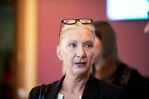 Gro Nyhus (Sp) fremmet forslag om å avvise fusjonen mellom Glitre Energi AS og Agder energi.