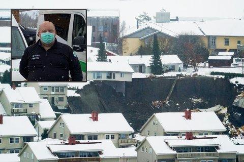 Beredskapsleder Roger Bjerknes i Norsk Folkehjelp Drammen og Sande.