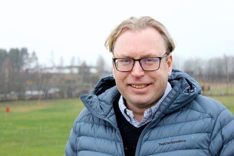 FORLOT SVERIGE: Anders Lantz flyttet til Drammen i 2003 etter at en kompis spurte om han ville komme hit for å jobbe som golftrener.