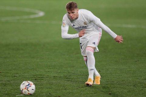 Martin Ødegaard fikk ikke spilletid mot Sevilla.