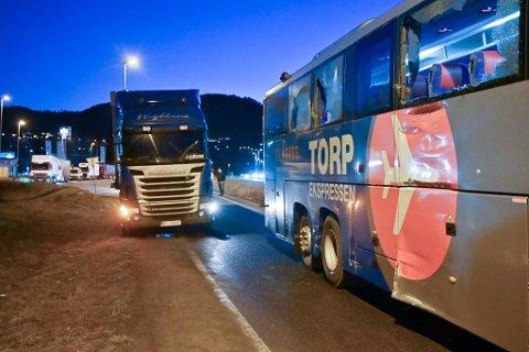 20 passasjerer var ombord i Torp-ekspressen under sammenstøtet.
