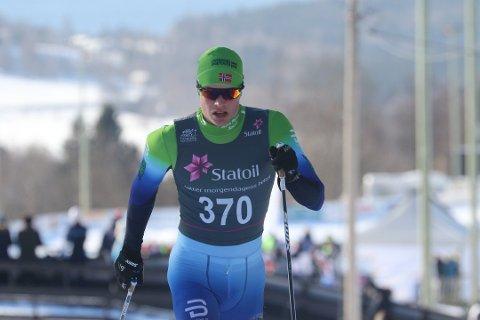 HÅPER PÅ MEDALJE: Får Andreas Kirkeng farten opp i løypa sånn at det kan bli medalje i junior-VM?