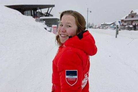 KLAR: Helene Marie Fossesholm er klar for verdenscuprenn i Falun søndag.