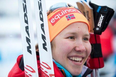 FEMTEPLASS: Helene Marie Fossesholm satte store deler av verdenseliten på plass med sin sensasjonelle femteplass i Falun søndag.