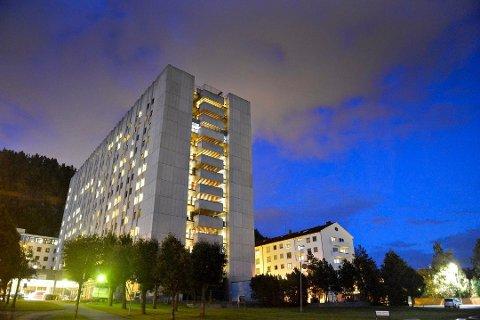 ØKER BEREDSKAPEN: Drammen sykehus øker beredskapen for å forberede seg på en økt tilstrømming av pasienter i tiden som kommer.
