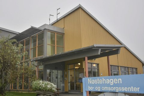 Nøstehagen bo- og omsorgsenter i Lier. Her skal eldre pleietrengende snart få besøk av andre som trenger pleie - for noe helt annet enn alderdom.