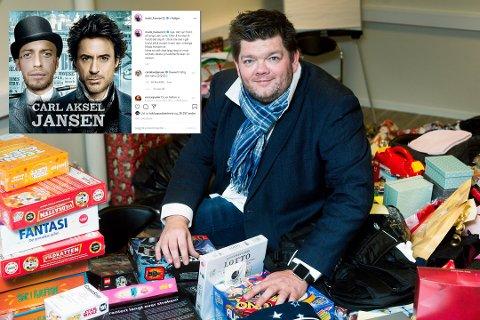 Mads Hansen har vært i en feide med Carl Aksel Jansen på Instagram. Det har kulminert i en avfølgingskampanje som gir Ronny Johnsen og Rett Fram Opplevelser hundretusener i inntekt.