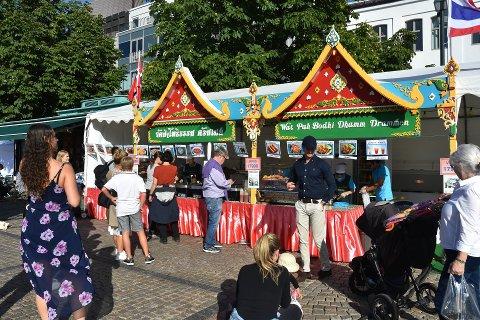 Matvognene er blitt en stor del av Elvefestivalen. Heller ikke de kan publikum nyte godt av i sommer.