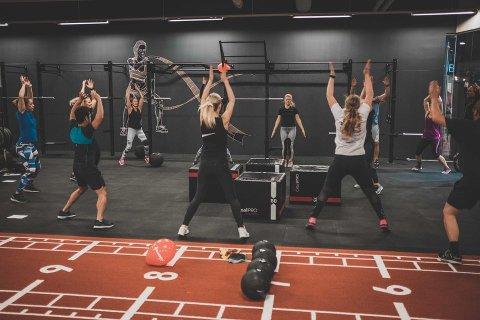 KOMMER TIL DRAMMEN: Mudo Gym, en treningssenterkjede som blant annet byr på kampsportimer, skal åpne på Magasinet kjøpesenter. Her fra et av de andre sentrene i Norge.