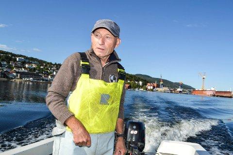 - Jeg har ikke sett utgraving andre steder i Drammensfjorden, sier pensjonert yrkesfisker Runar Larsen fra Holmsbu.