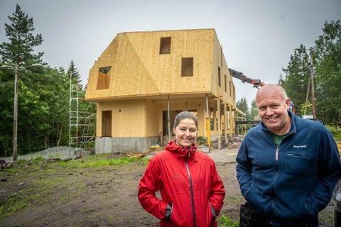 Styreleder Hilde Aurora Onseng og Prosjektleder Henrik Masch.