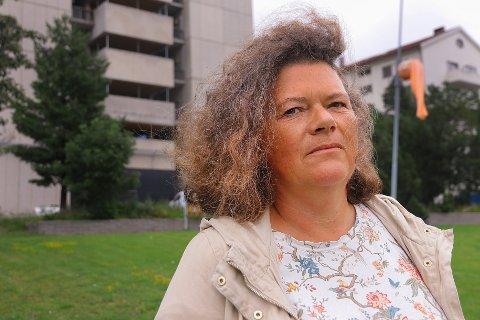 Kathy Lie fra Lier er plassert på toppen på SVs stortingsliste.