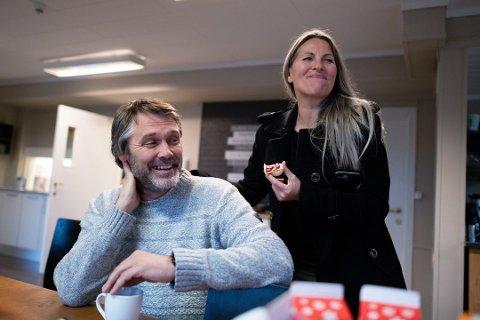 SOLGT: Ekteparet Jan Schøyen og Katrine Chi har nå solgt førstnevntes barndomshjem. Ferden videre går til Kragerø.