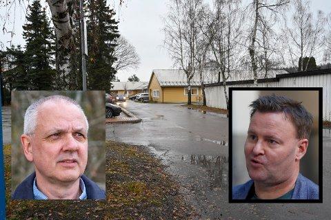 HARDEST RAMMET I NORGE: Ingen sykehjem i Norge har fått mer alvorlige konsekvenser enn Fjell bo- og servicesenter som nå har elleve døde etter utbruddet som startet i desember. Innfelt: Preben Aavitsland (FHI) og Espen Nakstad (Helsedirektoratet).
