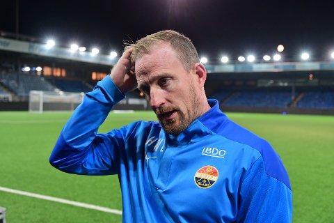 20 GODE MINUTTER: Håkon Wibe-Lund synes Strømsgodset leverte i 20 minutter i kampen mot Viking.