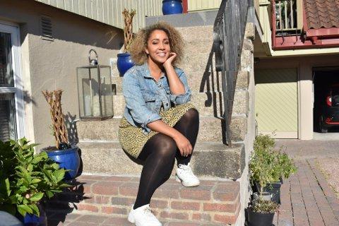 MED I MUSIKAL: Anna Lisa Kumuji bor på Åssiden. Hun var tidligere med i «Stjernekamp» på NRK, men er neste måned aktuell med rolle i en musikal på Chateau Neuf.