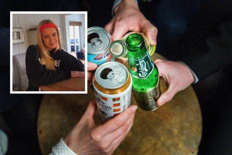 Ingvild Norrud Busch (17) er elevrådsleder på Røyken videregående skole. Nå advarer hun om at flere unge snakker om å feste i stor stil kommende helger.