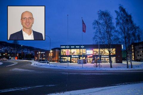 SATSER: Det Oslo-baserte eiendomsfirmaet Realkapital Investor har kjøpt Ingeniør Rybergs gate 44. Innfelt er Anders Aasland i selskapet.