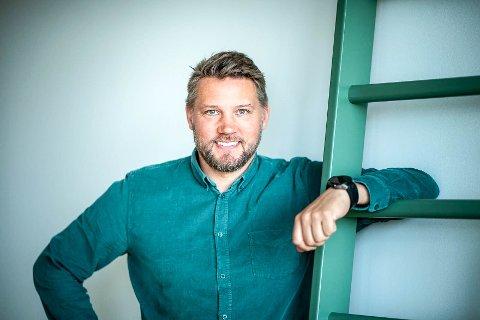 KORONAVEKST: Andreas Gallefoss i Mylna Gruppen kan melde om rekordresultater i fjor.